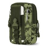 Mochila Táctica Militar 8031/cintura Smartphone Cartera