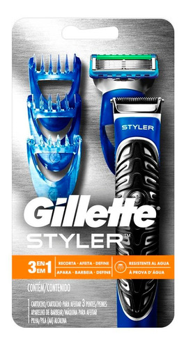 Afeitadora Electrica Gillette Fusion Proglide Styler 3 En 1
