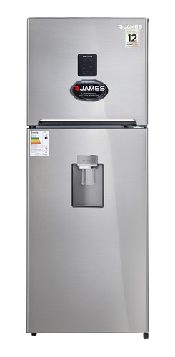 Heladera James Inverter J501 Inox Dispensador 12 Años Gtia