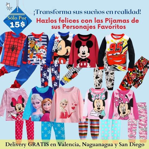 Pijamas Niña Minnie