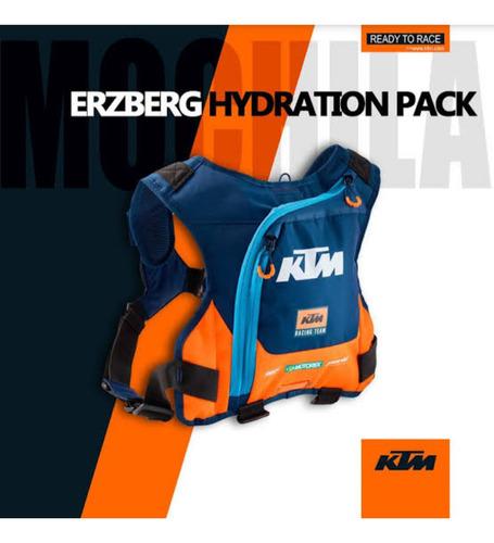 Ktm Erzberg Hidratación Pack Mochila Hidratación Ktm