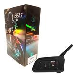 Intercomunicador V6 Pro Ejeas Bluetooth Moto - Nuevo