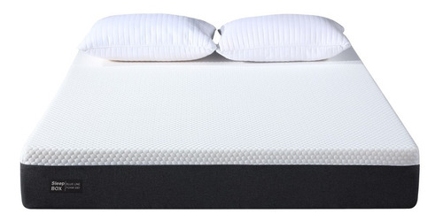 Colchón Alta Densidad 140x190 Con Memory Foam Sleep Box