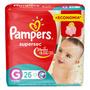Fraldas Pampers Supersec G 26 U Original