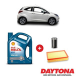 Cambio De Aceite Shell Semi-sintético Y Filtros Para Ford Ka