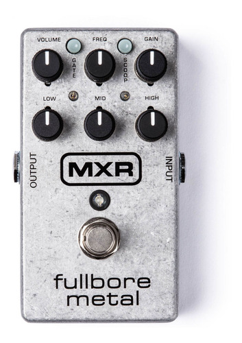 Pedal Distorsion Mxr M-116 Fullbore Metal