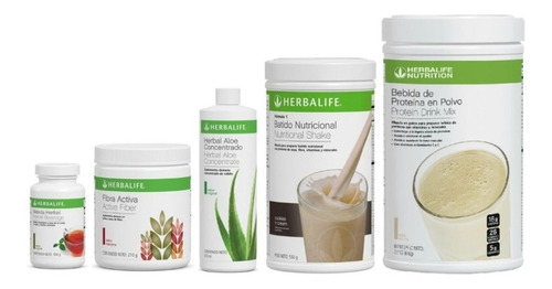 Batido 550gr + Te Herbal 51gr + Aloe + Proteina Pdm + Fibra