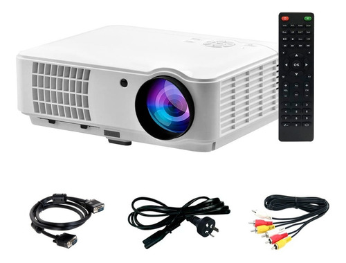 Proyector Hd 1080 Portable Led 3500 Lumens Tv Hdmi Notebook