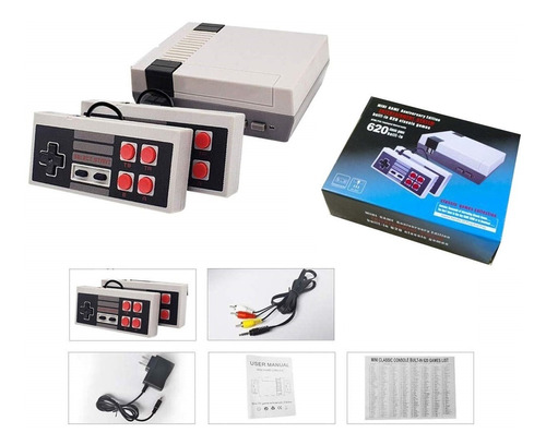 Consola Mini Retro 620 Juegos Incluidos