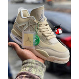 Tenis Jordan Retro 4 Off White 2021