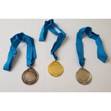 Medalla Premio De 6cm Tres Unidades Trofeo Para Deportes