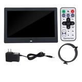 10in Portaretrato Digital Despertador Reproductor Mp3/4