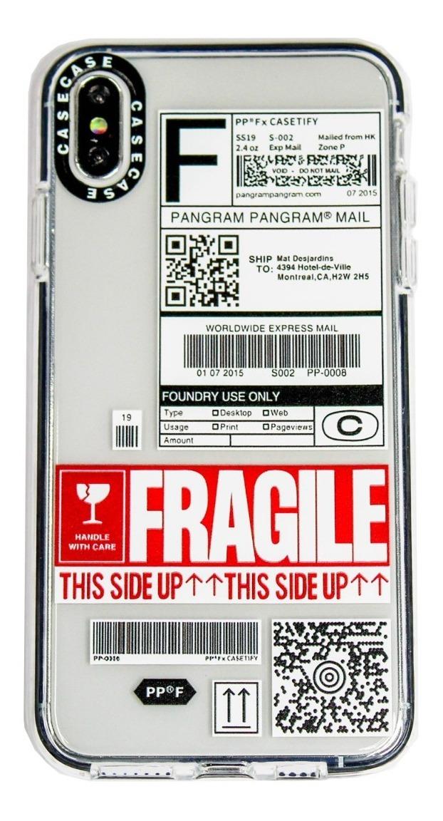 FUNDA TICKET FRAGILE IPHONE XS