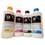 4 Tinta Litro Uso  Dye Epson  Hp Brother Canon 1 Por Color