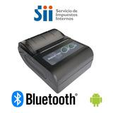 Impresora Bluetooth E-boleta Sii Aplicación Gratuita Android