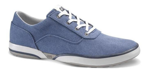 Sneakers Hombre Caterpillar Conquest Canvas Azul Utility
