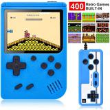 Mini Consola Portatil Con 400 Juegos Retro 2 Players