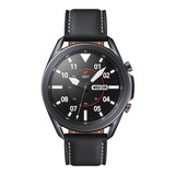 Samsung Galaxy Watch3 (bluetooth) 1.4  Caja 45mm De  Acero Inoxidable  Mystic Black Malla  Mystic Black De  Cuero Y Bisel  Mystic Black Sm-r840