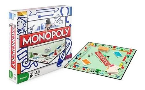 Monopoly Popular Familiar Hasbro Original Juego De Mesa