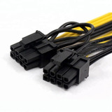Cable Adaptador Splitter 30cm Pcie 8 A 2x Pcie 8(6+2)mineria