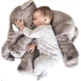 Elefante Almohada Peluche Infantil Cojin Bebe Niño/a Premium