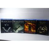 Black Sails Serie Completa Temporadas 1 2 3 Y 4 - Blu Ray
