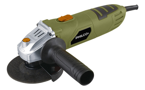 Amoladora Angular Philco Aa711 Verde 710 W 220 V