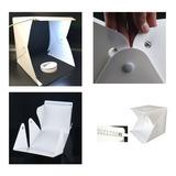 Estudio Plegable Photo Studio Softbox Caja De Luz Fondo Byn