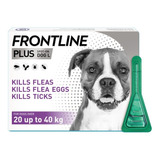 3 Pipetas 20-40 Kg Frontline Plus Fpl