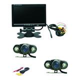 Kit Monitor 7 Pulgadas+2 Cámaras Con Vision Nocturna