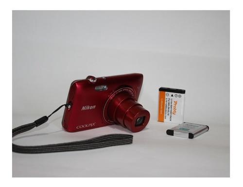 Cámara Portátil Barata Nikon Coolpix S3500 7 Pixeles