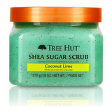 Tree Hut - Sugar Scrub-coconut Lime-exfoliante Cuerpo