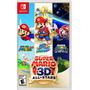 Super Mario 3d All Stars Switch Mídia Física Pronta Entrega Original