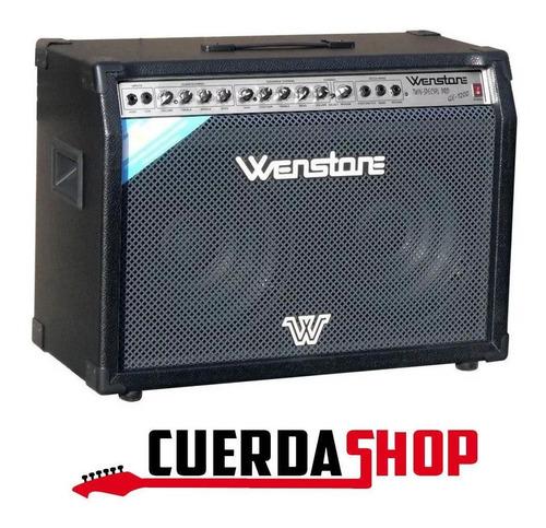 Amplificador De Guitarra Wenstone 120w Rms Ge-1200 Twin