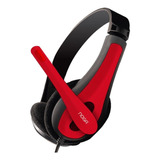 Auriculares Noga Ngv-400 Rojo