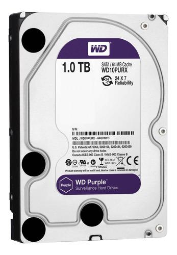 Disco Duro Interno Western Digital Wd Purple Wd10purx 1tb