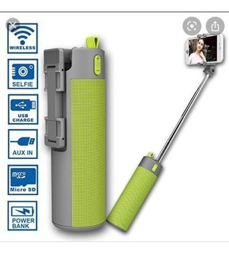 Parlante Bluetooth/linterna/powerbank Todo En Uno Zonalaptop
