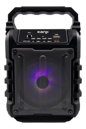 Parlante Bluetooth Portátil Kanji Amnesia Radio Fm Usb  Sd