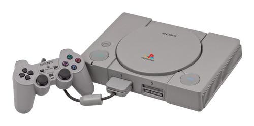Sony Playstation 1 Funciona Perfecto Joystick Cables Juegos