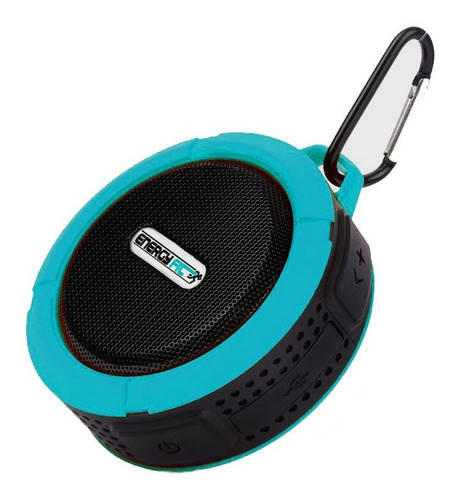 Parlante Bluetooth Recargable Ducha Anti Agua Con Microsd 5w