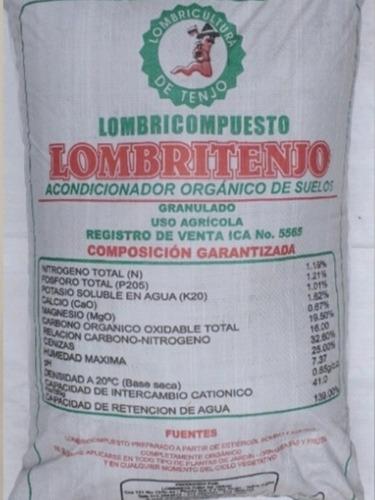 Humus De Lombriz X 25 Kg Lombri-compue - kg a $1160