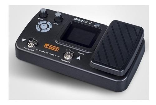 Pedal Multi Efectos Joyo Gem Box Ll Con Pedal De Expresión