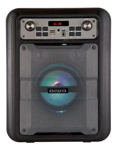 Parlante Bt Portátil Aiwa Bluetooth Tws Karaoke Awp-122bt
