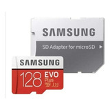 Micro Sd Samsung Evo 128gb Sdxc 4k 100mb/s Clase10+adaptador
