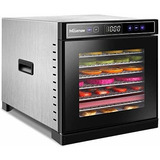Nictemaw Máquina Deshidratadora De Alimentos, 8 Bandejas De