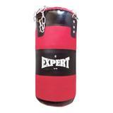 Bolsa Boxeo 67cm + Relleno Compacto + Cadenas P/ Niño El Rey