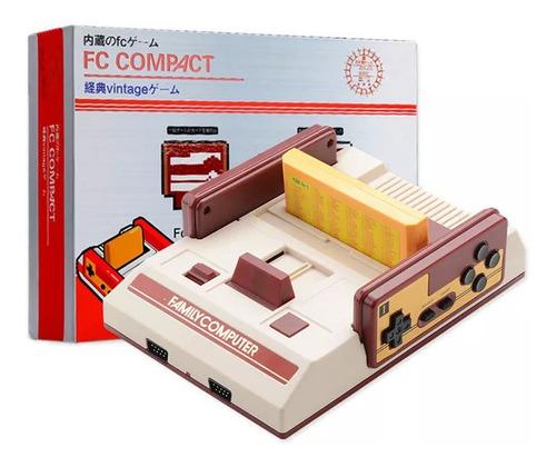 Consola Retro Famicom Clasica Con Cartucho Y 500 Juegos Int.