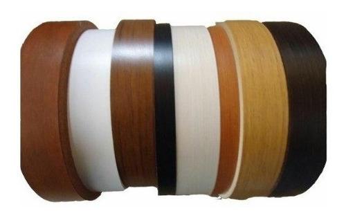 Tapacantos Melamina Faplac Preencolado 50mm X 10m - Colores