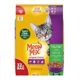 Meow Mix 32 Lbs (alimento Para Gatos)