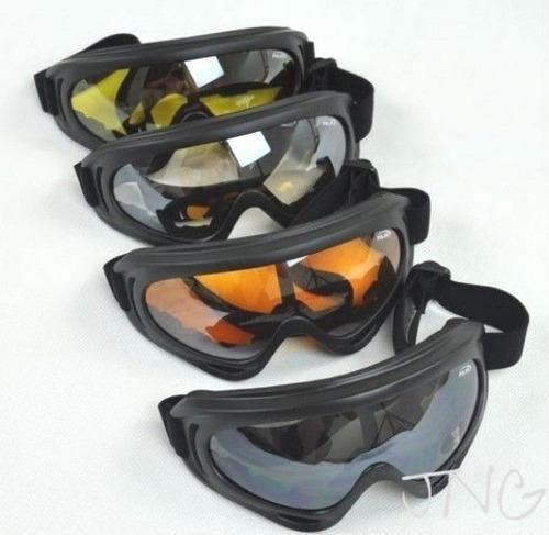 [los E.e.u.u. Solamente] 4 Gafas / Conjunto Moto Ski Snowboa